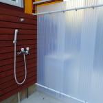 シャワールームをリノベーション