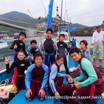 大阪から日帰りで行けるダイビングスポット!2ボートダイビング(外海)¥16000