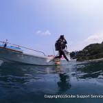 ビギナーダイバーも安心の2ボートダイビング¥14,000