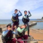 和歌山の海でダイバーになる!初級ライセンス取得!