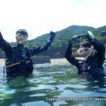 夫婦で挑戦!和歌山の海で始めるダイビング!