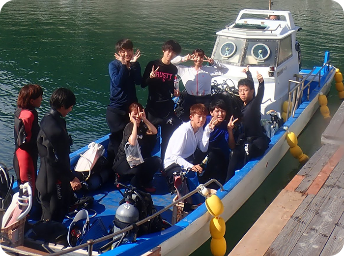 大阪から約1時間半、少人数制で安全に開催。初心者の方が安心の和歌山ダイビングスクールです!
