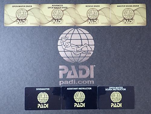 PADIライセンス(Cカード取得)について | 和歌山でダイビングライセンス ...