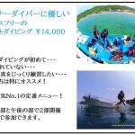 大阪から日帰りで楽しむ和歌山の海!2ボートダイビング¥14,000~