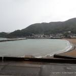 台風10号のため海はクローズとなりました