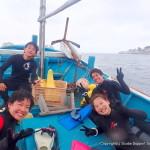 大阪から日帰りで行けるダイビングスポット!外海&内海2ボートダイビング